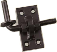 "1/2"" Adjustable pin on 4"" x 2"" plate. Adjustable Cranked Band Hinges"
