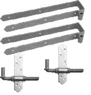 Rear Eye Double Strap Hinge Sets