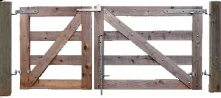 Farm Gate & Field Gate Hardware, Latches, Hinges & Gate Hangers