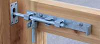 Slide Gate Bolt Latch details