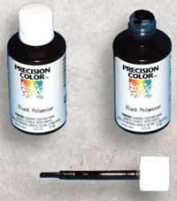 Black TouchUp Paint for Carriage Bolts for BPPCG Single Strap Hinges