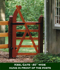 English Keel Gate Plans