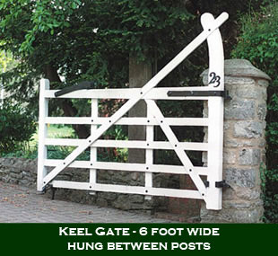 English 5 Bar Keel Gate